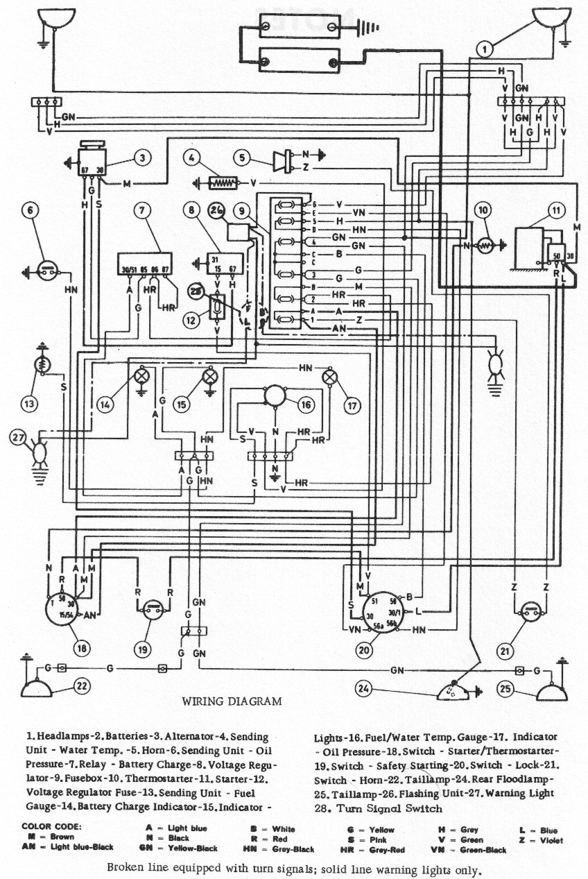 on oliver 1655 tractor wiring diagram